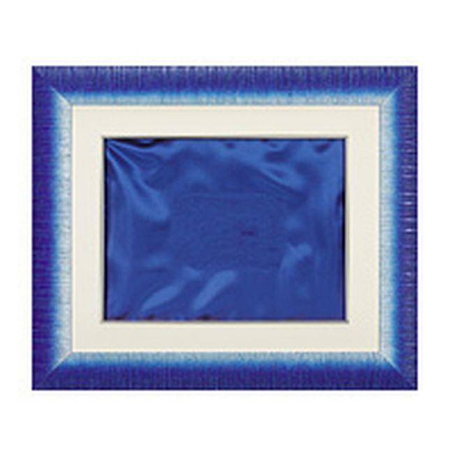 Cornice In Legno Blu